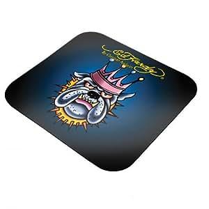 Ed Hardy King Dog - Mini almohadilla para ratón