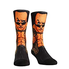 Know your role jabroni! Raise an eyebrow as the king of the smack talk (and layething of the smackdown), The Rock, receives his very own sock design. Celebrate your favorite wrestler from the top rope to the bottom of your feet!       ...