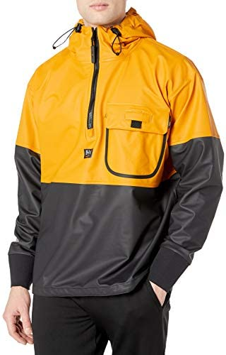 Helly Hansen Workwear 70206 Helly Hansen Roan Anorak Ochre Charcoal 70206 399 Xs Xs Baumarkt