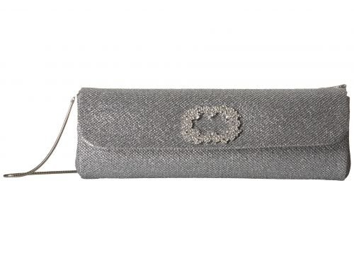 Badgley Mischka(バッジリーミシュカ) レディース 女性用 バッグ 鞄 バックパック リュック Delicate2 - Silver [並行輸入品] B07CQZP337