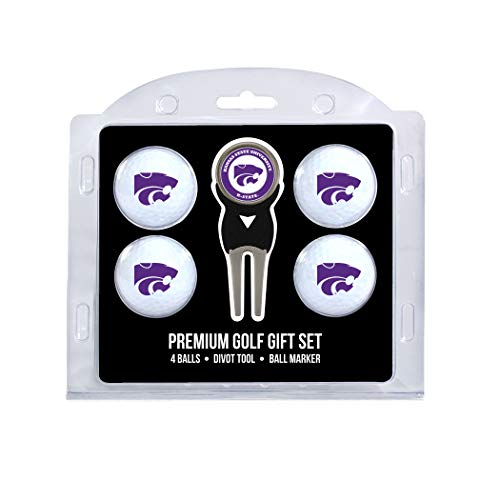 - Team Golf NCAA Kansas State Wildcats Regulation Size Golf Balls (4 Count) & Divot Tool with Removable Double-Sided Magnetic Marker