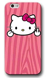 Cute Hello Kitty Pattern Hard Shell Case&Cover for iPhone 6 plus, High-quality iPhone 6 plus Case for Girls Amy901iP1HK0235ip6P nfl Los Angeles Angelss iPhone 6 plus Case