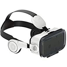 VR Headset, FANNEGO 3D VR Glasses Virtual Reality Boxes with Stereo Headphone for Video And Games Compatible with IOS & Android Other 3.5