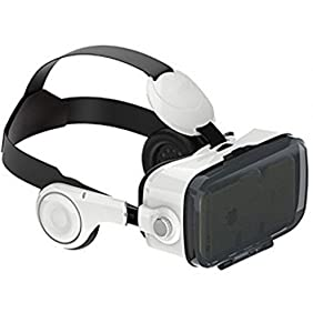 Electronix Express 78HXYZ4VR$$ 3D VR Headset with Stereo Headphone, black