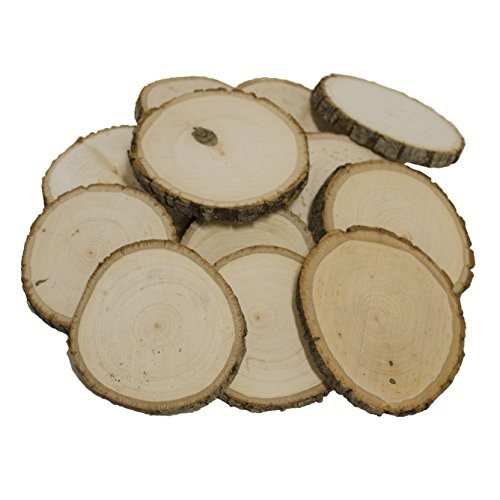(Walnut Hollow Bulk for & Rustic Weddings & Craft Projects Basswood Coasters 12 Piece Pack,)