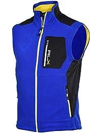 RLX Ralph Lauren Men\u0026#39;s Pieced Microfleece Vest