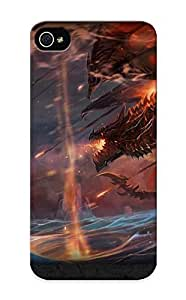 Fireingrass Perfect Tpu Case For Iphone 5/5s/ Anti-scratch Protector Case (video Games Death World Of Warcraft Storm Blizzard Entertainment Artwork Flame )