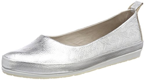latest collections online clearance reliable Andrea Conti Women's 0025762 Closed Toe Ballet Flats Silver (Silber 096) mUzUrw