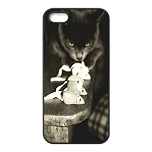 Cute and Lovely Cat Design Cheap Custom Hard Case Cover for iPhone 5,5S, Cute and Lovely Cat iPhone 5,5S Case