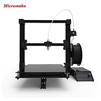 Micromake Impresora 3D 2017 Nuevo Micromake C1 con estructura de H-botXZ Tamaño grande de la impresión 245 * 245 * 260m m Kit de DIY (Estándar C1)