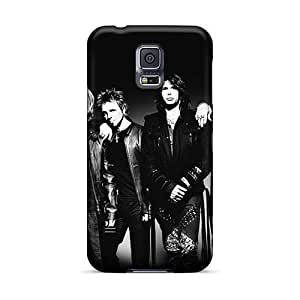 Perfect Hard Phone Cases For Samsung Galaxy S5 With Unique Design HD Guns N Roses Pictures RichardBingley