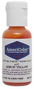 AmeriColor Colores alimentarios Soft Gel LEMON YELLOW 19ml