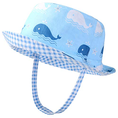 - Kids Sun Hat Bucket Hat for Baby Toddler Double Side - UPF50+ Sun Protection Summer,Breathable,Age 1-6