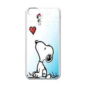 Snoopy Hard Case Cover Skin For Iphone 5c KHR-U1572765