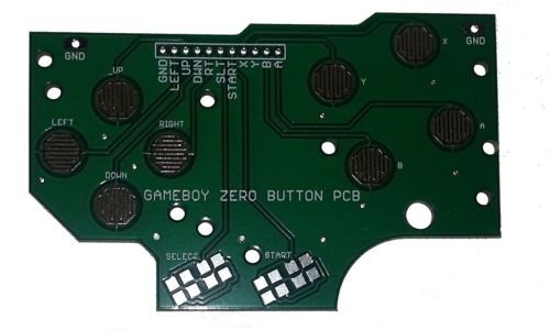 Price comparison product image Gameboy DMG-01 4 Button PCB DIY Pi Zero Made In USA With Grounds and Hole Guide