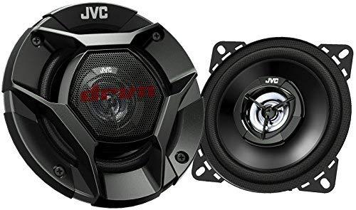 35W RMS Pair JVC 4 DRVN CS-DR421 220W Peak 4 2-Way DRVN Series Coaxial Factory Upgrade Car Speakers