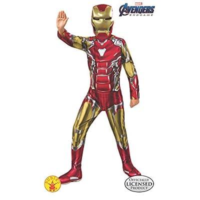Rubie's Marvel Avengers: Endgame Child's Iron Man Costume & Mask, Small: Toys & Games