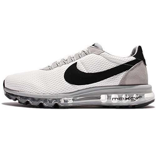 NIKE Mens Air Max LD Zero, Summit WhiteBlack Wolf Grey, 8.5 M US