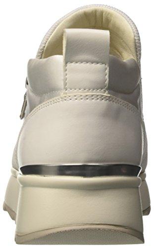 Femme Sneakers D Gendry Cassé A Blanc Basses Geox White off 7qpTgXxq
