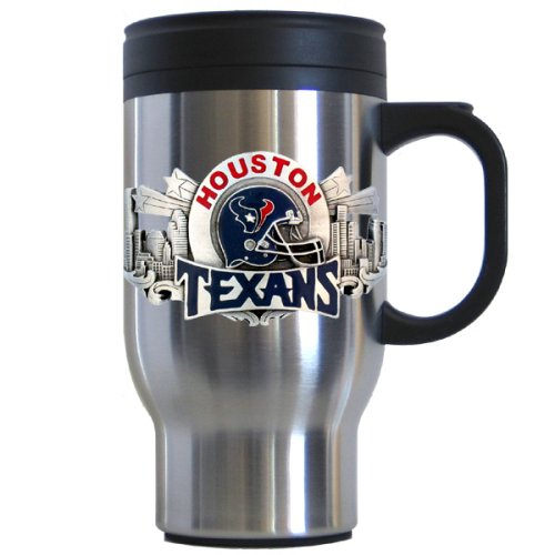 Siskiyou Sports Houston Texans 18 oz NFL Stainless Steel Travel Mug