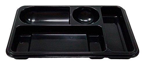 Pryse 1120001 - Bandeja compartimentos, 25 x 15,5 x 2,5 cm