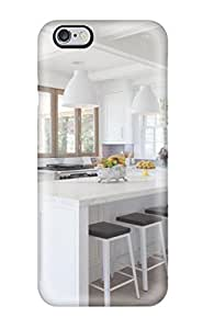 Cute PC Crisp White Kitchen With Blue Tile Case Cover For HTC One M9