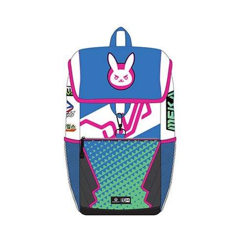 [해외]Loungefly x Overwatch D.Va Patch Backpack (Multicolored One Size) / Loungefly x Overwatch D.Va Patch Backpack (Multicolored, One Size)