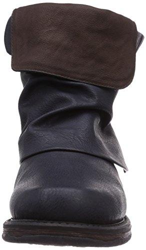 Bleu 14 Rieker femme 78673 Boots W4nHUW0wPq
