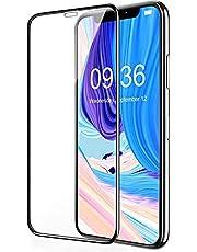 Película de Vidro Temperado Serve no iPhone XR e Serve no iPhone 11 6.1, Bordas Pretas, Vidro 3D, Cobertura Total [Sky Dream]