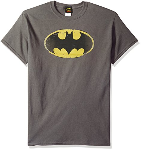Ptshirt.com-18970-DC Comics Men\'s Batman Distressed Shield T-Shirt-B00IA661W2-T Shirt Design