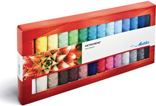American & Efird Mettler Metrosene Plus Gift Pack Article 1161, 28 Color