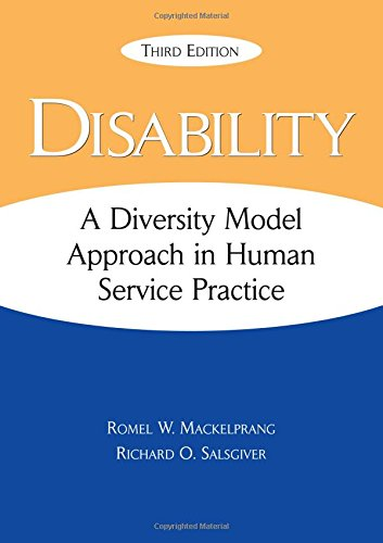 Disability A Diversity Model Approach in Human Service Practice