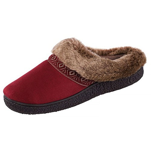 Women's Chili Isotoner Slippers Technology Gel Comfort Smartzone Pepper OpqvnUzq