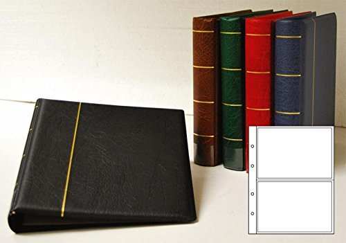 Prophila Postcard Album with 20 pockets for 40 Postcards Prophila Collection