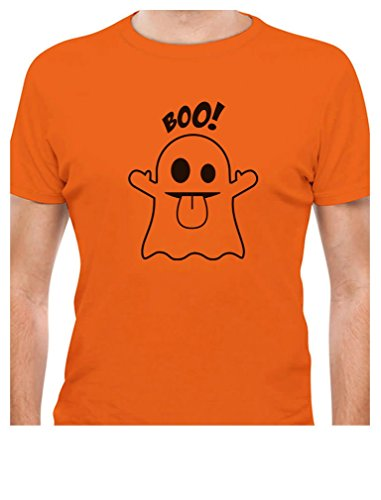 Boo Ghost Easy Halloween Costume Funny T-Shirt X-Large