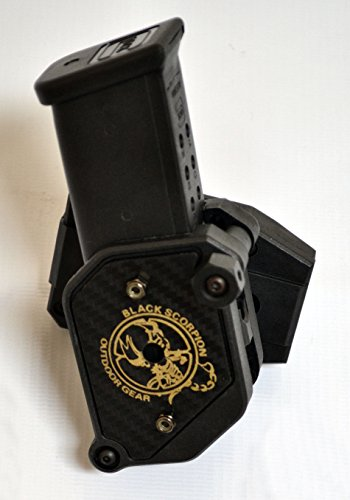 IPSC & USPSA Black Scorpion COMBO Smart Purchase 4 Storm I Magazine Pouches by Black Scorpion Outdoor Gear (Image #1)