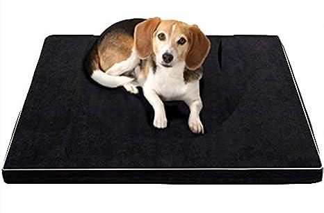 Zorux - Camas de Espuma viscoelástica para Perros Impermeables Oxford Parte Inferior ortopédica colchón Camas para Perros Grandes M/L/XL: Amazon.es: ...