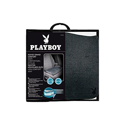 Playboy PB-810202 r/éhausseur Assise Grand Confort /à m/émoire de Forme pour si/ège Auto 41x39x10 cm