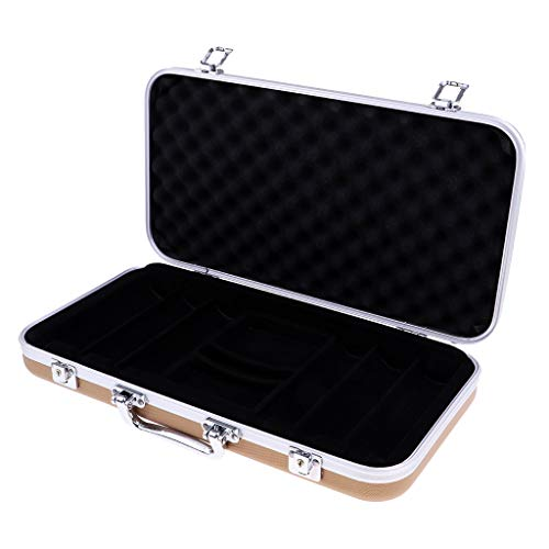 Baosity Portable Playing Card Poker Chip Storage Box Case - Holding 300Pcs Chip Gift by Baosity