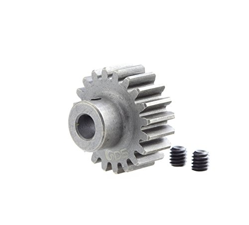 20 Tooth Pinion Gear (GDS Racing Pro Mod1 5mm Bore Pinion Gear 20 Tooth Hardened Steel M1 20T RC)