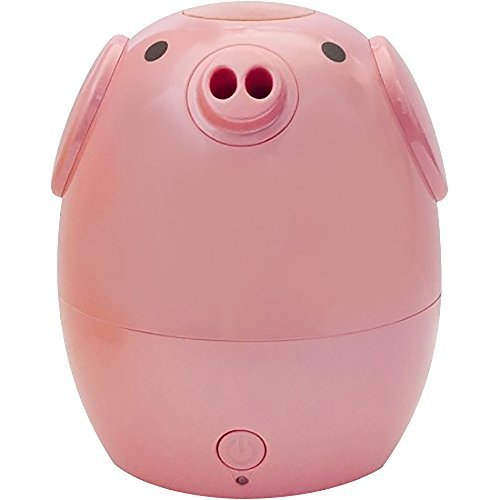 GreenAir Creature Comforts Kids Essential Oil Aroma Diffuser & Humidifier (Rosie the Pink Pig) by Green Air