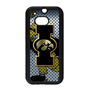 Generic Customize Unique Otterbox--NCAA Iowa Hawkeyes Team Logo PC and TPU Case Cover for HTC One M8