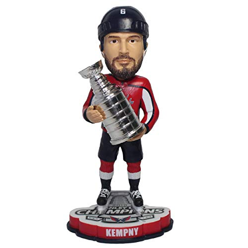 FOCO Michal Kempny Washington Capitals 2018 Stanley Cup Champions Bobblehead NHL -
