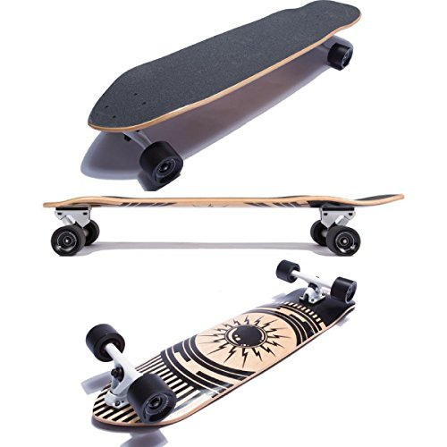 Magneto Longboards - Canadian Maple Downhill Kick Tail Longboard