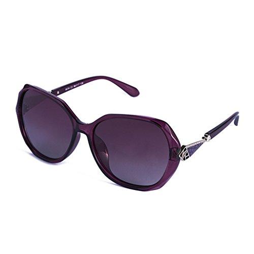 Grand amp  Fashion Cadre De Soleil Protection Polarisées Pilote Lunettes  couleur Conduite Lady amp lunettes A A x333 0z8Arq0xwF 92ab77246dc3