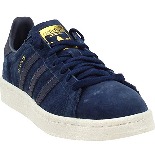 adidas Campus Mens Shoes Collegiate Navy/Reflective/Gold Metallic bz0073 (8 M US)