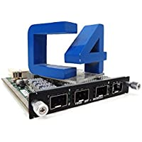 Dell N805d Powerconnect M8024-sfp+ 10ge Sfp+ Quad Port Uplink Module