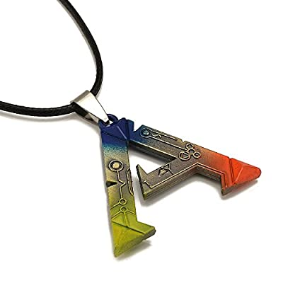 Generic PC Game ARK: Survival Evolved Alloy Necklace 3.83.2cm Colorful Pendant