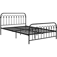 9 by Novogratz Bright Pop Full Metal Bed (Black)