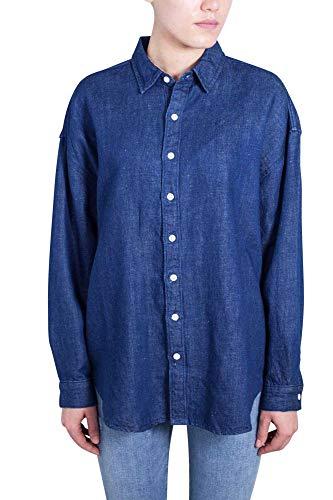 Lino Oversize M Cotone E Camicia Di In Taglia Chambray Donna Levi's BWx6w7q8x